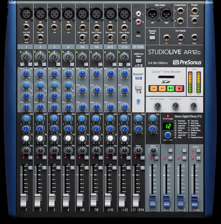Presonus StudioLive  AR12 C USB-C mixer