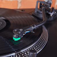 Audio Technica AT-LP120XUSB BK Direktdriven skivspelare (svart)