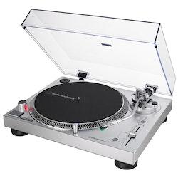 Audio Technica AT-LP120XUSB SV Direktdriven skivspelare (silver)