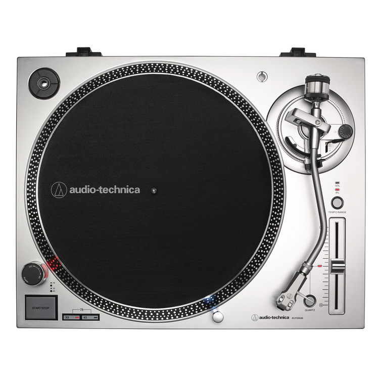Audio Technica AT-LP120XUSB SV Direktdriven skivspelare (silver)