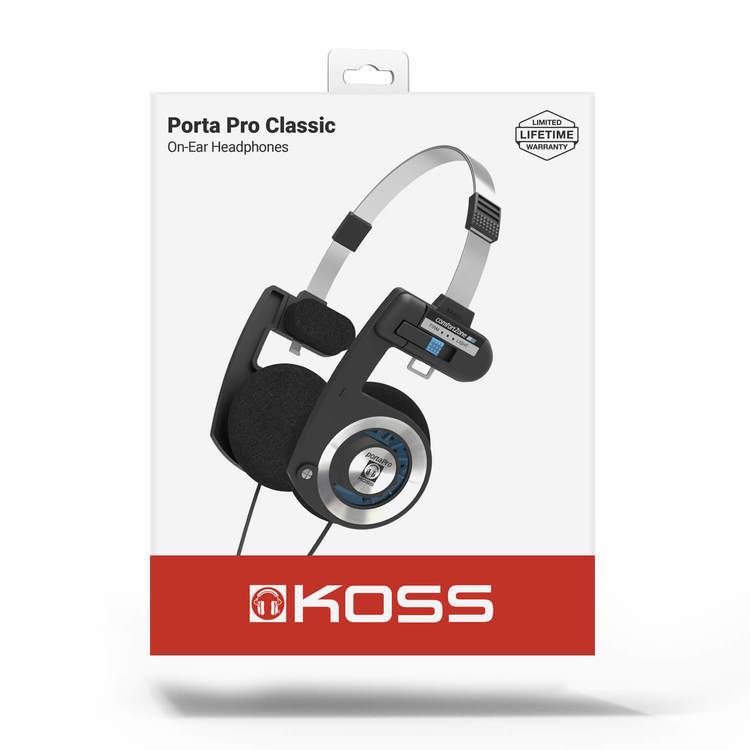 KOSS Hörlur PortaPro 2.0 Original On Ear