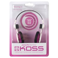KOSS Hörlur PortaPro 2.0 Original On Ear White Pitahaya