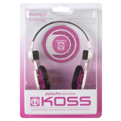 KOSS Hörlur PortaPro 2.0 Original On Ear White Pitahaya