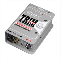Radial TRIM TWO Stereo DI with Level Control