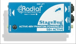 Radial Stagebug SB-1 Active Acoustic DI