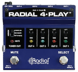 Radial 4 Play Multi-Output DI Box