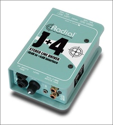 Radial J+4 Balanced -10dB to +4dB Driver