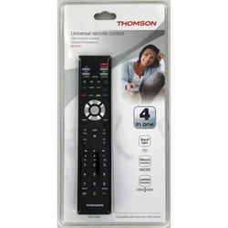 THOMSON Fjärrkontroll 4in1, Svart, Universal