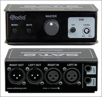 Radial SAT2 Passive 2 ch balanced stereo attenuator