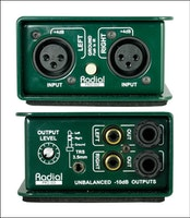 Radial PROISO Converter from +4dB to -10dB