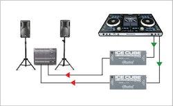 Radial ICE CUBE IC-1 Balanced Line Isolator and Hum Eliminator
