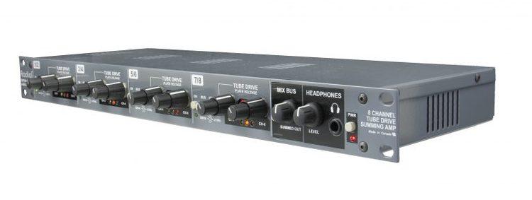 Radial SPACE HEATER Analog Summing Mixer & Tube Drive