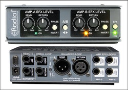 Radial Twin Line Effects loop interface for two amps.