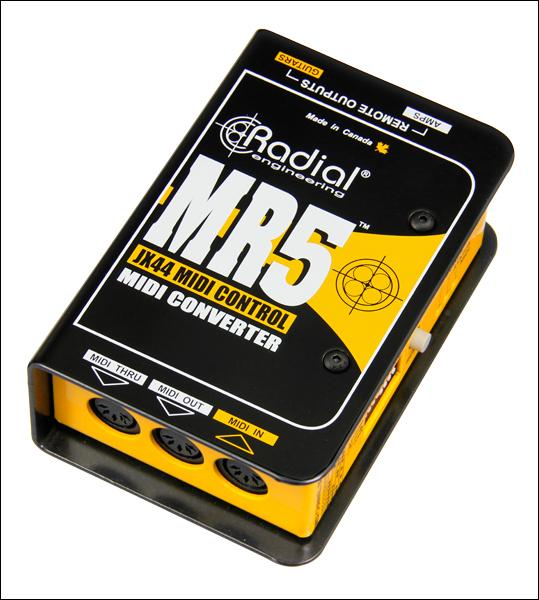 Radial MR5 - Midi to Radial JR5 Translator