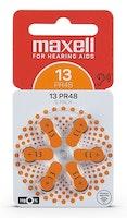 MAXELL PR48 Hörapparatsbatteri 13/Orange 6-pack