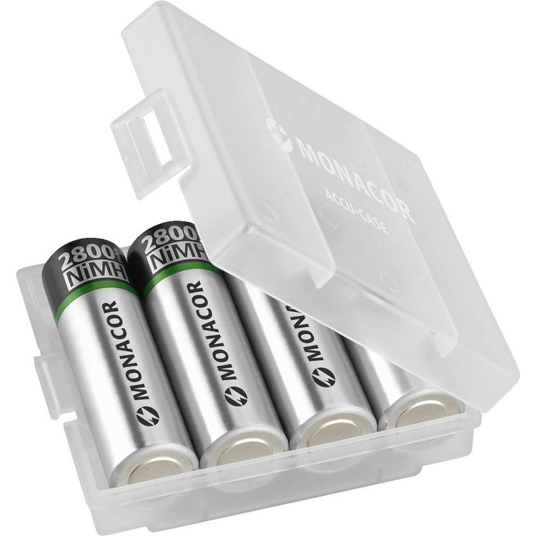 Monacor ACCU-CASE Transportlåda för batterier
