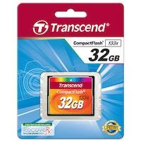 TRANSCEND CompactFlash 32GB 133x