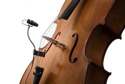 DPA CORE 4099 Mic, Loud SPL med Clip för Cello