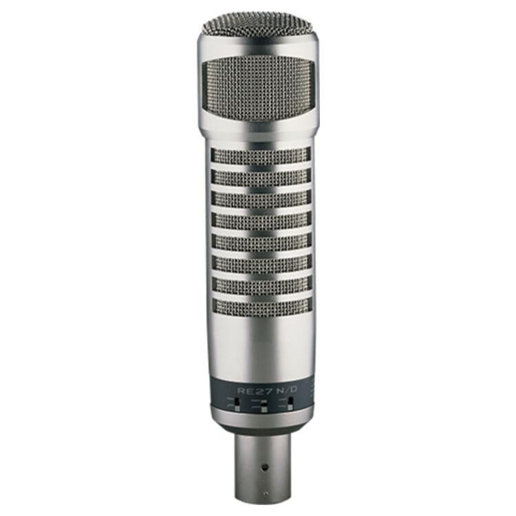 Electro Voice RE27N/D Mikrofon, Variable-D, dynamisk, kardioid, neodyniumelement