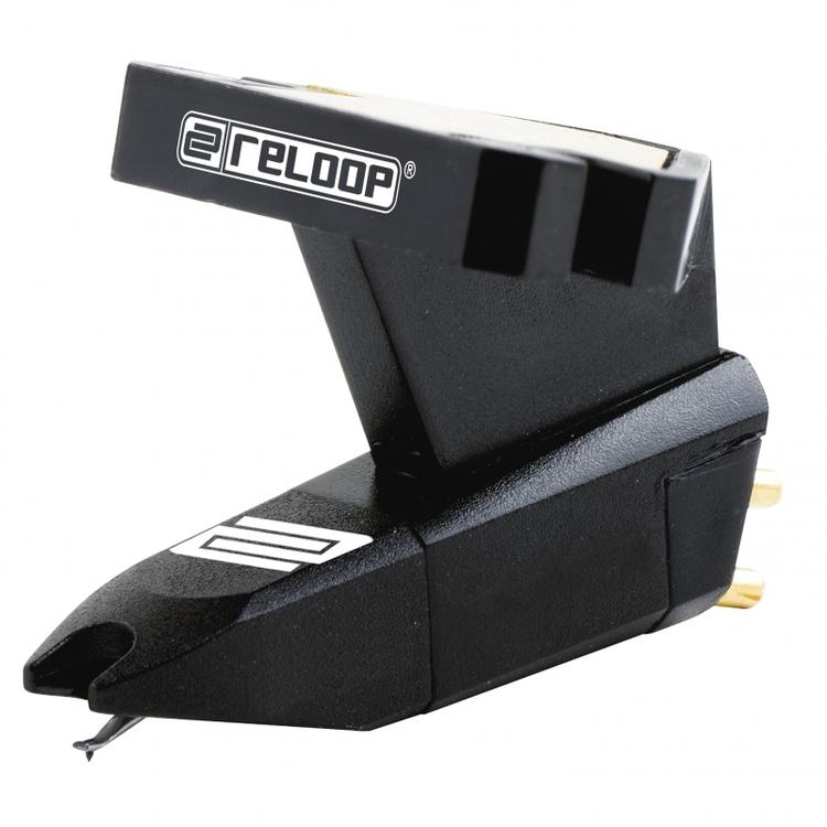 OM.Black pickup, 20 Hz-18 kHz, skalmontering, svart RELOOP