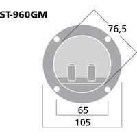 Monacor ST-960GM Högtalarterminal
