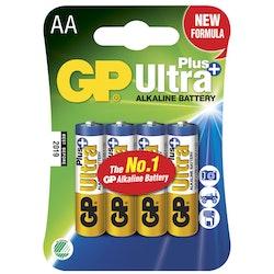 GP Ultra Plus Alkaline AA 4-pack