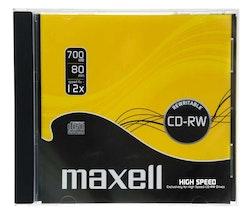 Maxell CD-RW Skiva 10-pack Jewel Case