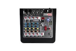 A&H ZED-6FX 6-kanalig live mixer + FX