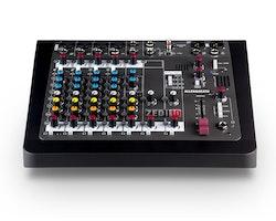 A&H ZEDi-10 Hybrid kompakt mixer, 4×4 USB interface