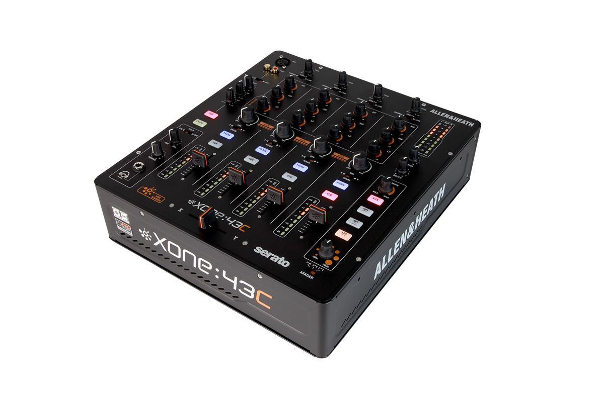 A&H XONE:43C Club & DJ Mixer int. ljudkort. 4 Stereo Ch, 2Mix Out