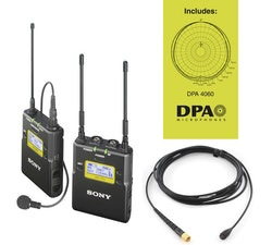 Sony UWP-D11/K33-DPA lavalier wireless set with DPA mic