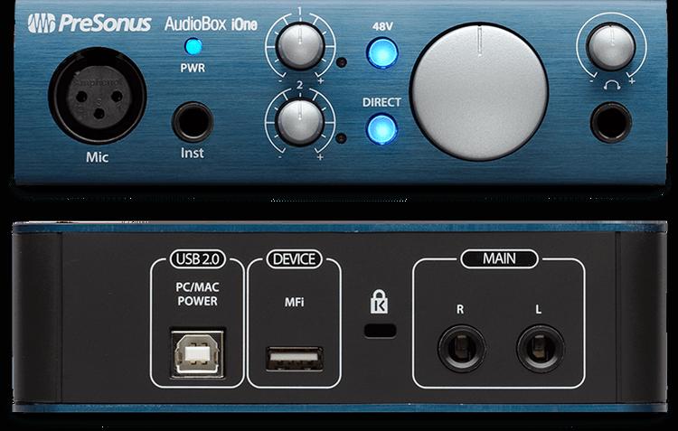 Presonus AudioBox iOne ljudinterface
