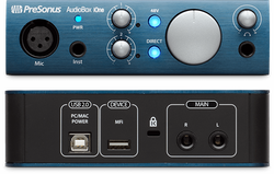 Presonus AudioBox iOne ljudinterface