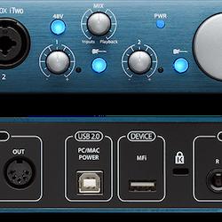 Presonus AudioBox iTwo, ljudinterface