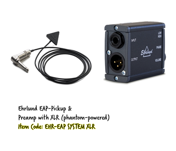 Ehrlund EAP System XLR. Kit med EAP PickUp och EAP PreAmp XLR 48V