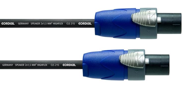 Cordial CPL 1,5 LL 2, 1,5m 2-pol högtalarkabel