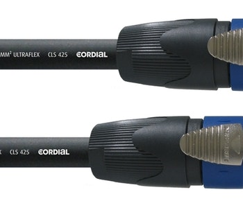 Cordial CPL 5 LL 4, 5m 4-pol högtalarkabel