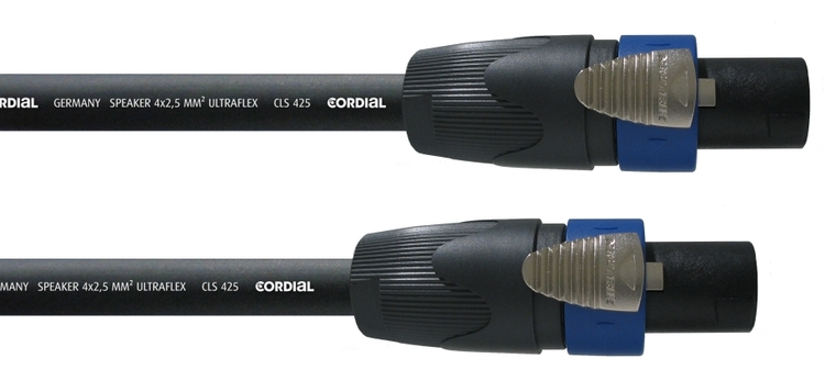 Cordial CPL 1,5 LL4 1,5m 4-pol högtalarkabel