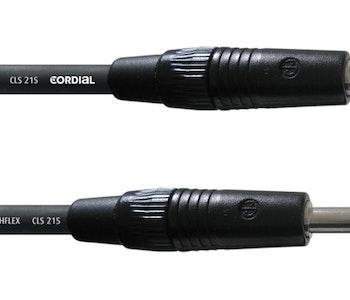 Cordial CPL 1 PP 1,0m högtalarkabel, telekontakter
