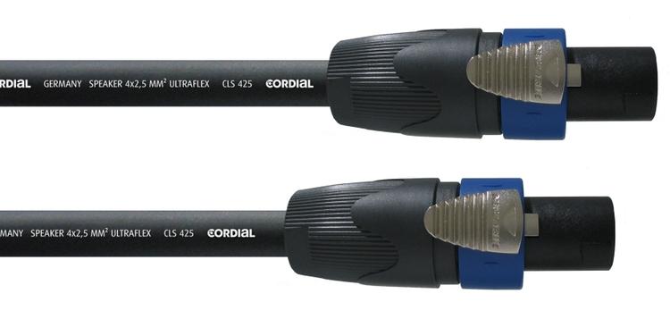 Cordial CPL 20 LL 4, 20m 4-pol högtalarkabel