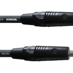 Cordial CPL 10 PP 10m högtalarkabel, telekontakter