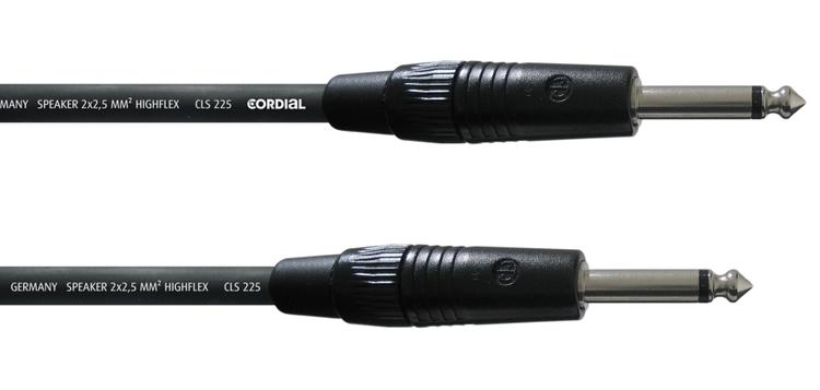 Cordial CPL 10 PP 25 10m högtalarkabel, telekontakter