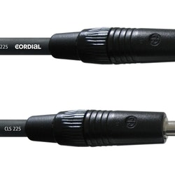 Cordial CPL 20 PP 25 20m högtalarkabel, telekontakter