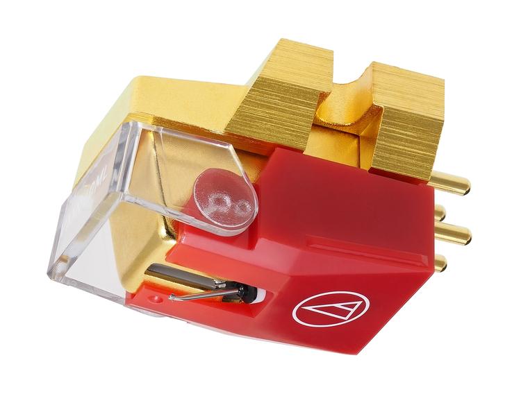Audio-Technica VM740ML, High-End Dubbel rörlig magnet, stereo pickup med MicroLine® nålslipning
