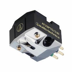 Audio-Technica AT33PTG/II, pickup med dubbel rörlig spole och MicroLine®-slipad nål