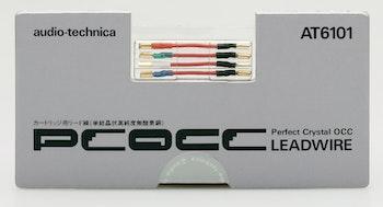 Audio-Technica AT6101, PCOCC-ledningskablar pickup till skal