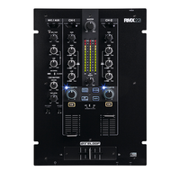 Reloop RMX-22i, 2 (+1) Ch DIGITAL Eff. Mixer, iPad / Tablet / Smartphone Audio Split-Input