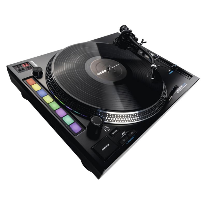 Reloop RP-8000MK2 DJ-skivspelare, Serato DJ PRO, 8x LED pads