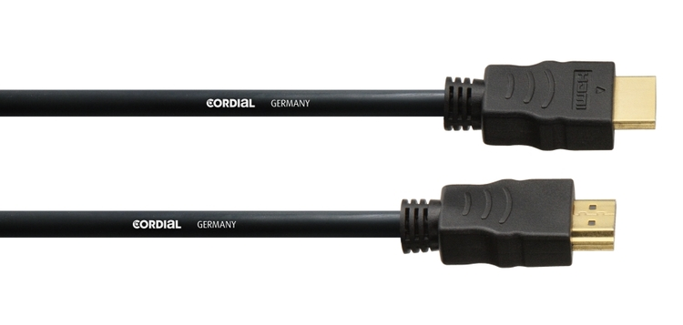 Cordial CHDMI 3m HDMI Kabel med 2x HDMI A kontakter