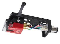 Audio-Technica VM540ML/H, Dubbel rörlig magnet, Stereo pickup med MicroLine® slipad nål i pickupskal